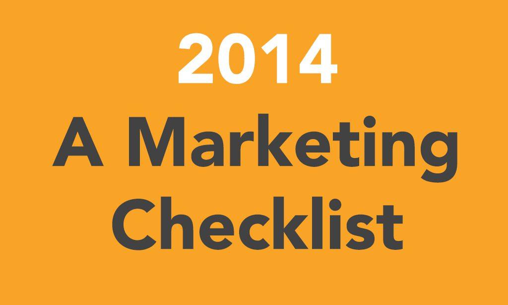 2019: A Marketing checklist Image