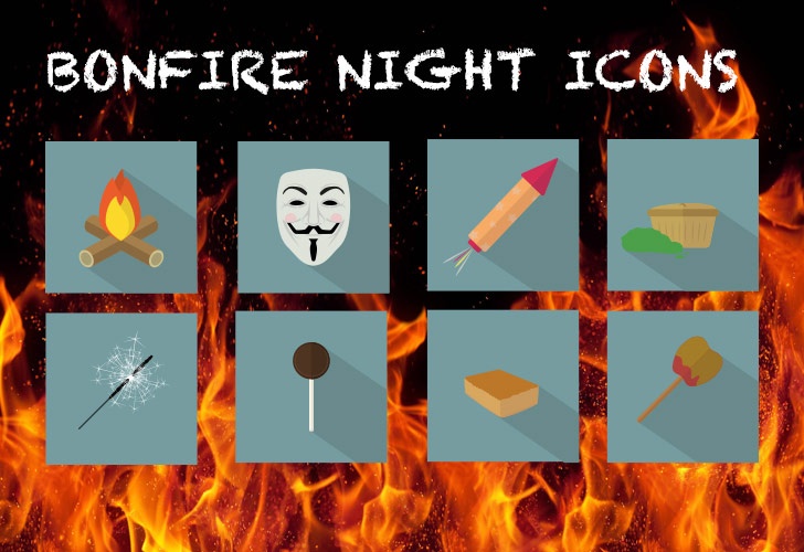 Set Bonfire Night off with a bang with our free icons Image