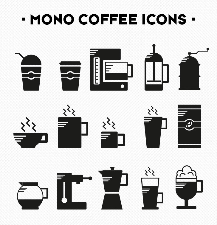 Are you a coffee lover? Download our free coffee icons! Image