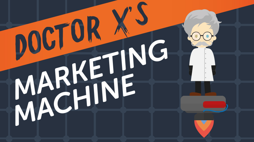 Dr X's Marketing Machine Image