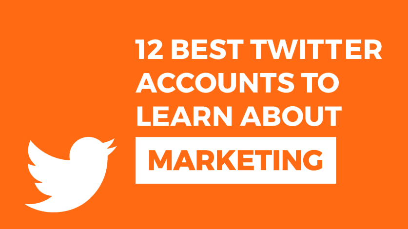 The 12 Best Twitter Accounts to Learn About Marketing Image