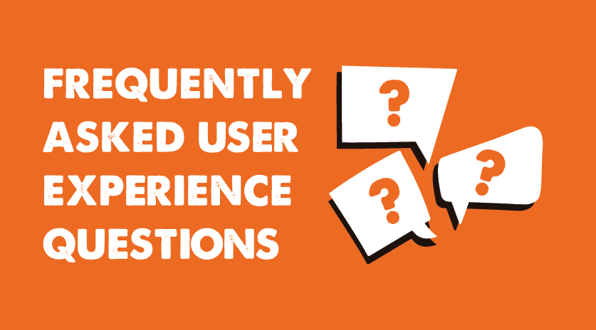Frequently Asked User Experience Questions Image