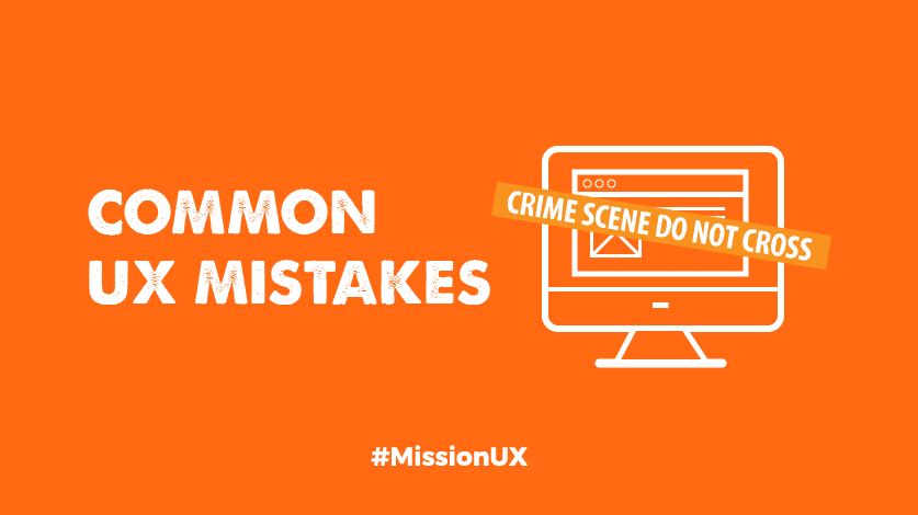 Common UX Mistakes Image