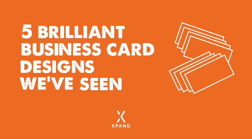 5 Brilliant Business Card Designs We've Seen Image