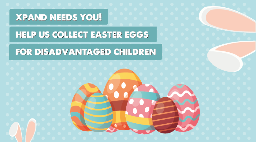 We're collecting Easter Eggs for disadvantaged children