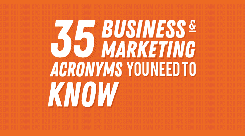 Image showing acronyms for business