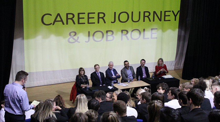 Cullingworth School Career Day Panel