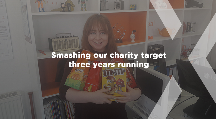 Smashing our charity target three years running! Image