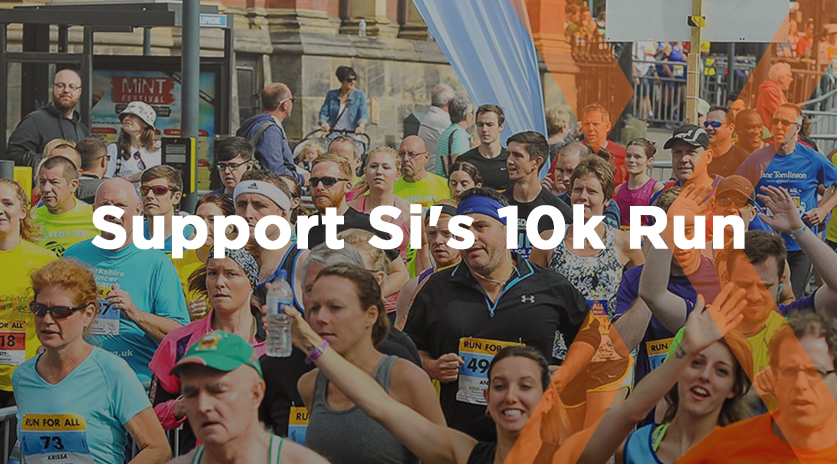 Support Si's 10k charity run Image
