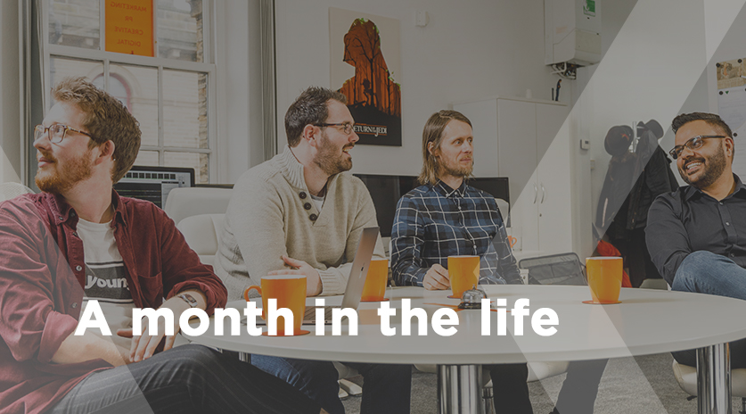 A Month in the life
