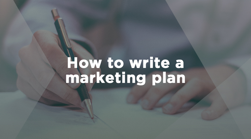 How to write a marketing plan Image