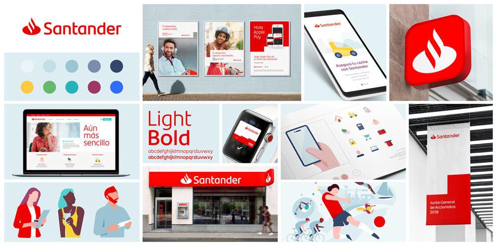 Santander Rebrand