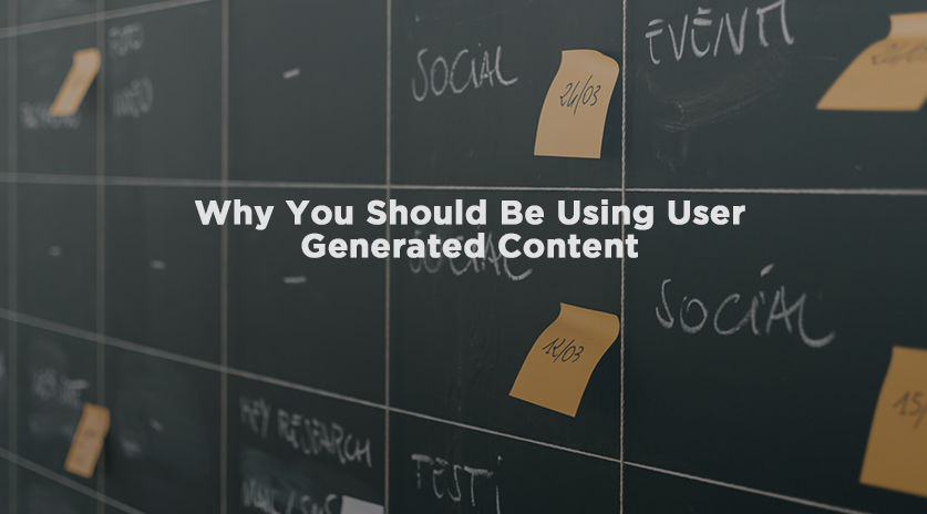 Why You Should Be Using User Generated Content Image