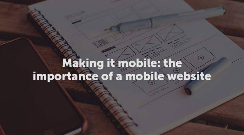 The importance of a mobile website