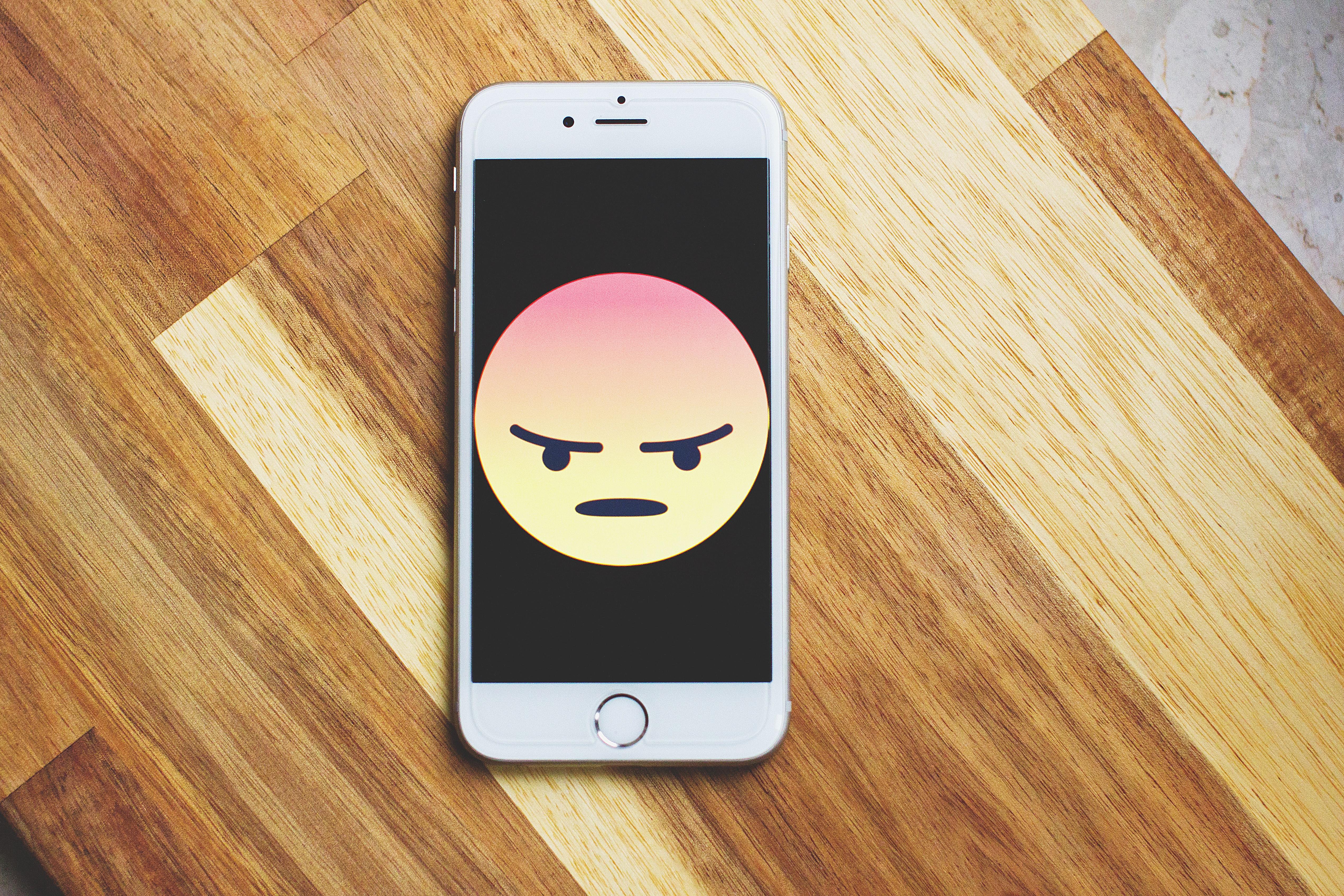 Frustrated Emoji