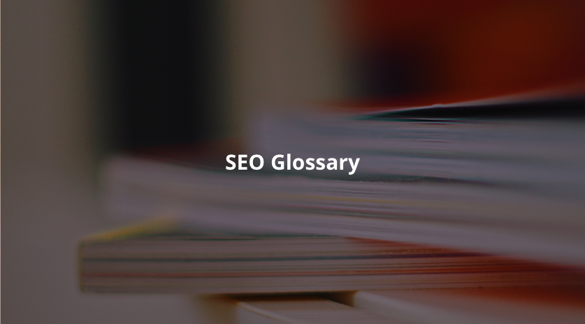 The Ultimate SEO Glossary Of Terms Image