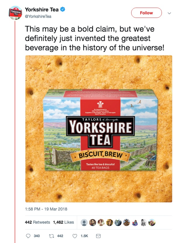 Yorkshire Tea Biscuit Brew