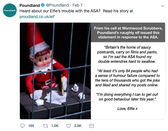 Poundland Elf Behaving Badly