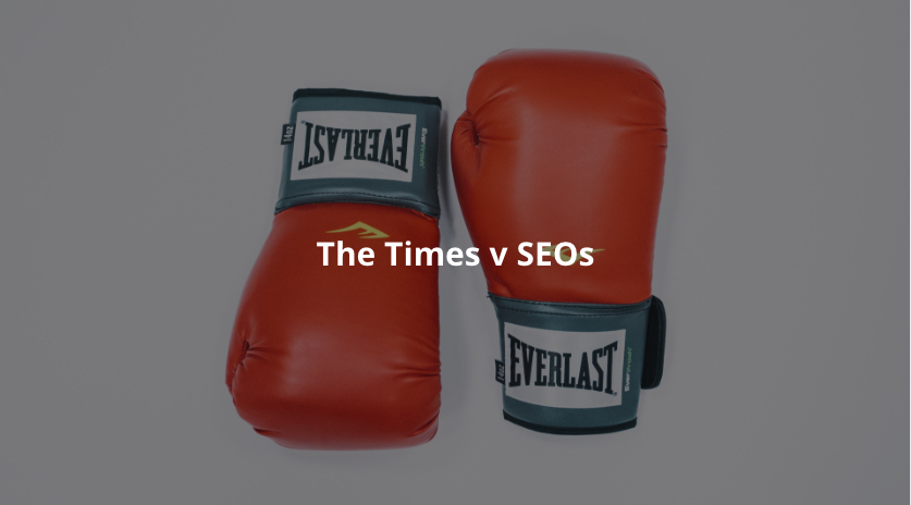 The Times v SEO: My Take Image