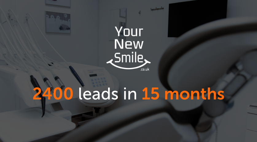 2400 leads in 15 months