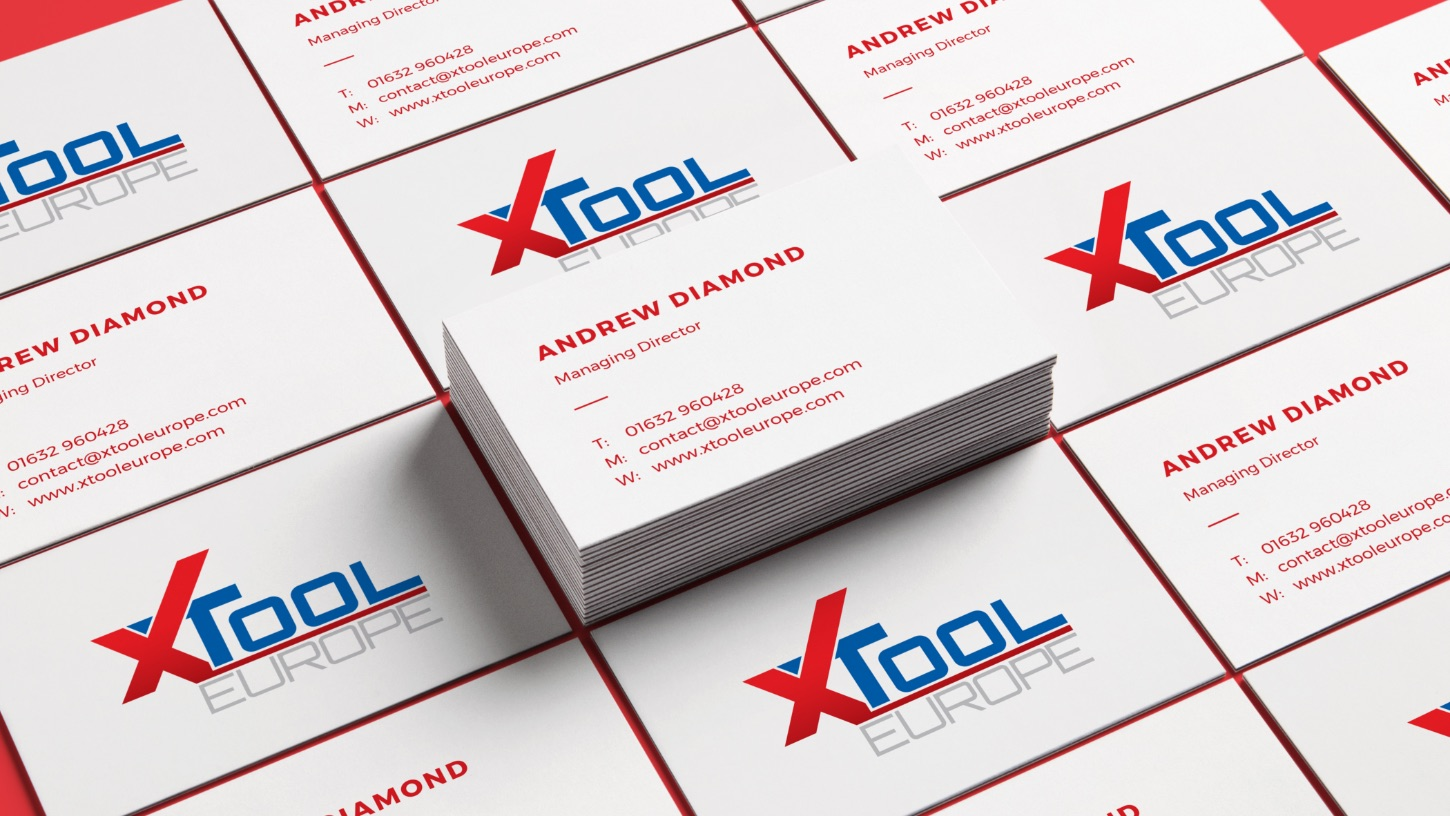 X-Tool Europe business cards