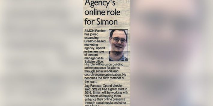 Agency's online role for Simon
