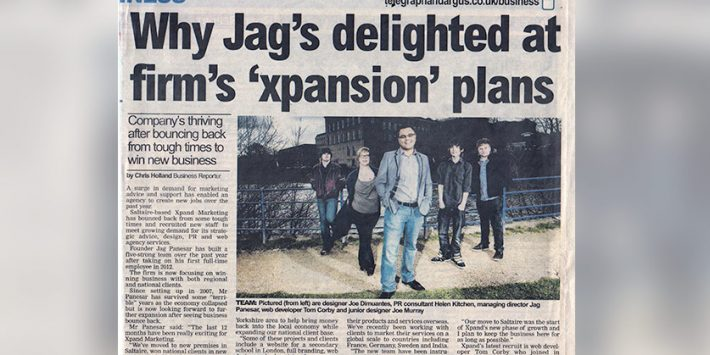 Why Jag's delighted at firm's 'xpansion' plans