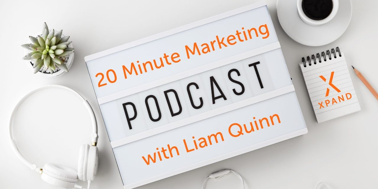 20 Minute podcast With Liam Quinn